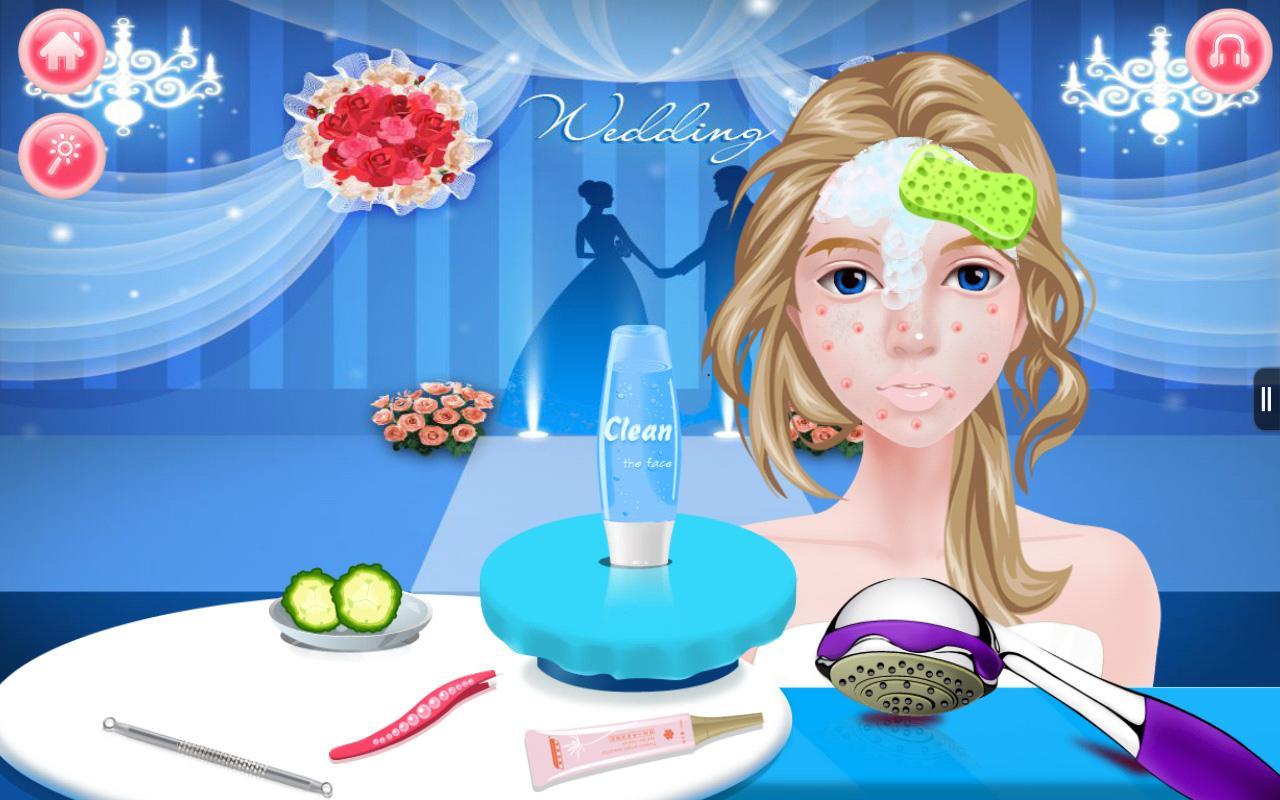 Games make-up wedding image