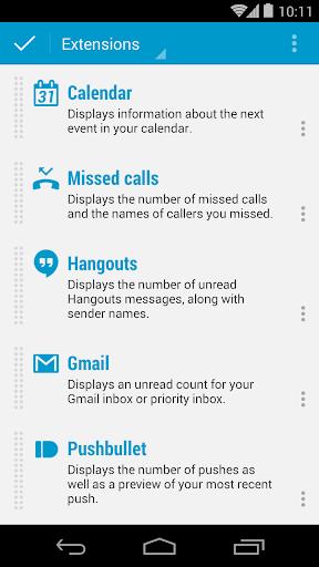 DashClock Calendar Extension