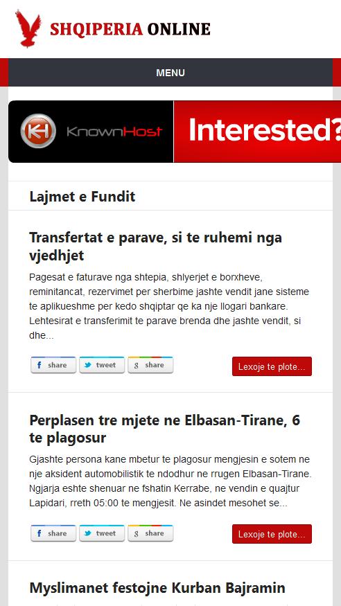 Shqiperia Online (Albania) - screenshot