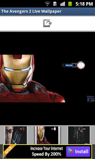 The Avengers 2 Live Wallpaper