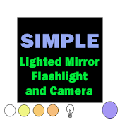 Lighted Mirror with Flashlight