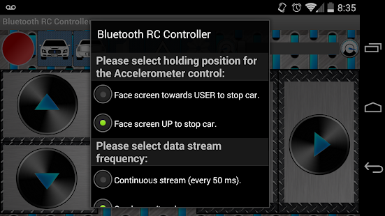 Arduino Bluetooth RC Car- screenshot thumbnail