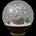 Snow globe Live wallpaper 3D icon