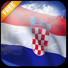 3D Croatia Flag Live Wallpaper icon