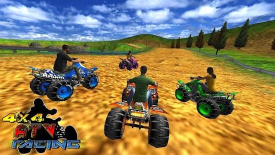 4X4 ATV Racing 3D Quad Race