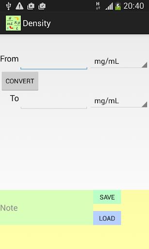 Density Converter AD FREE