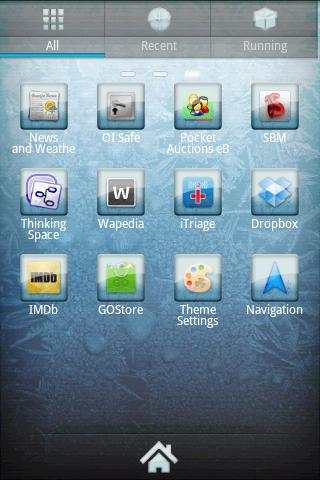 ICY GO Launcher Theme- screenshot