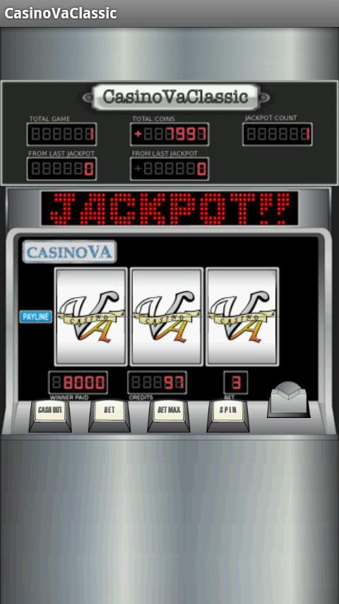 スロット CasinoVaClassic- スクリーンショット