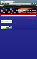 Screenshot of Disabled Vet Assistance