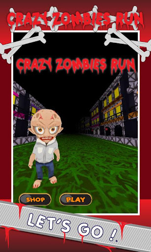Crazy Zombies Run - Walking 2