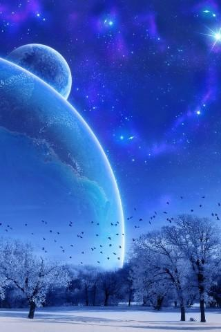 3D Universe Live Wallpaper - screenshot