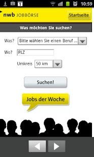 NWB Jobbörse- screenshot thumbnail