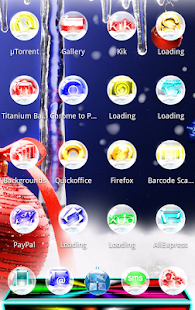 NEXT LAUNCHER NEW YEAR THEME- screenshot thumbnail