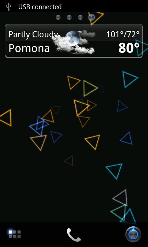 Geo-Phaze Live Wallpaper Basic- screenshot