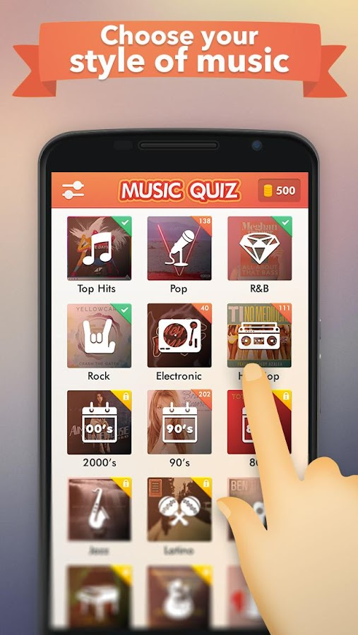 Screenshots of Music Quiz for iPhone