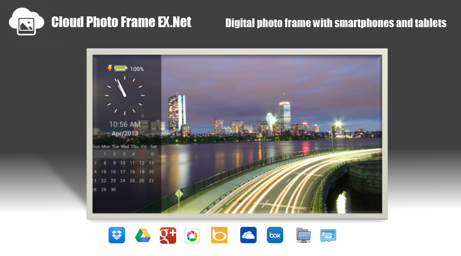 Cloud PhotoFrame EX.Net- screenshot