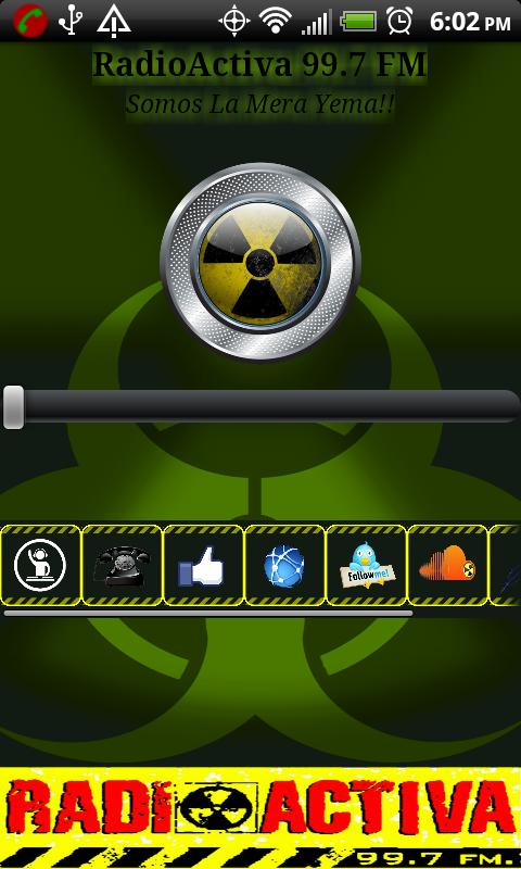 RadioActiva HN - screenshot