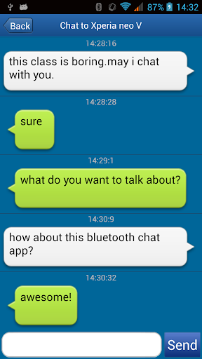 玩免費通訊APP|下載Bluetooth Chat with SRC app不用錢|硬是要APP