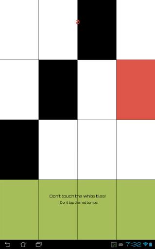 Don't Tap The White Tile Yo