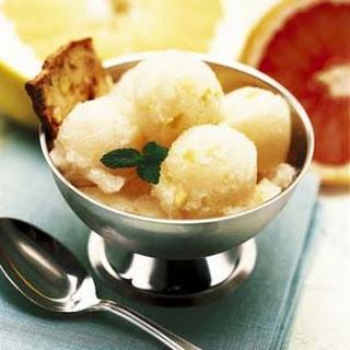 Pomelo-Mint Sorbet
