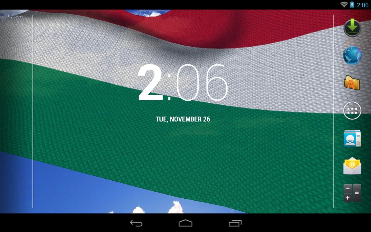 3D Hungary Flag LWP + - screenshot