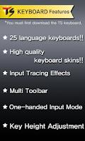 Screenshot of Thai for TS Keyboard