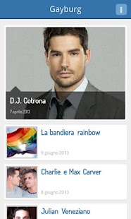 Gayburg: notizie dal mondo gay - screenshot thumbnail