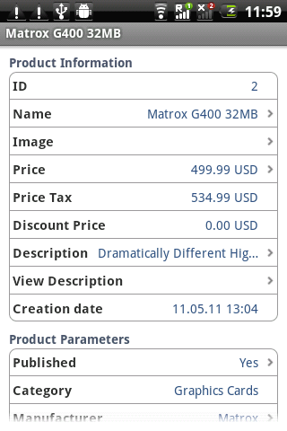 osCommerce Administrator- screenshot