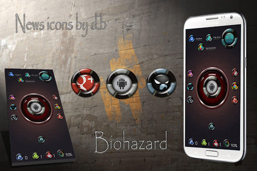 Biohazard Icons Pack