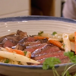 Moose Steaks with Dark Chocolate Sauce Recipe