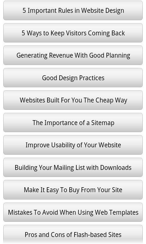 Audiobook - Web Design- screenshot