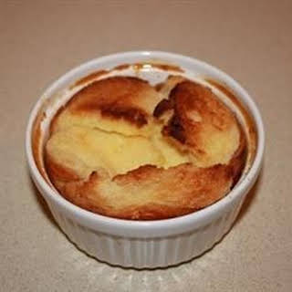English Bread and Butter Pudding.