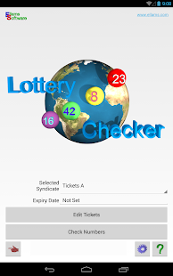 Lottery Checker- screenshot thumbnail