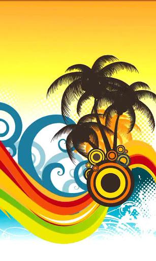 Tropical Wave Live Wallpaper
