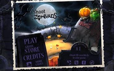لعبه التصويب على الطيور الرائعه Shoot The Zombirds v1.0.5