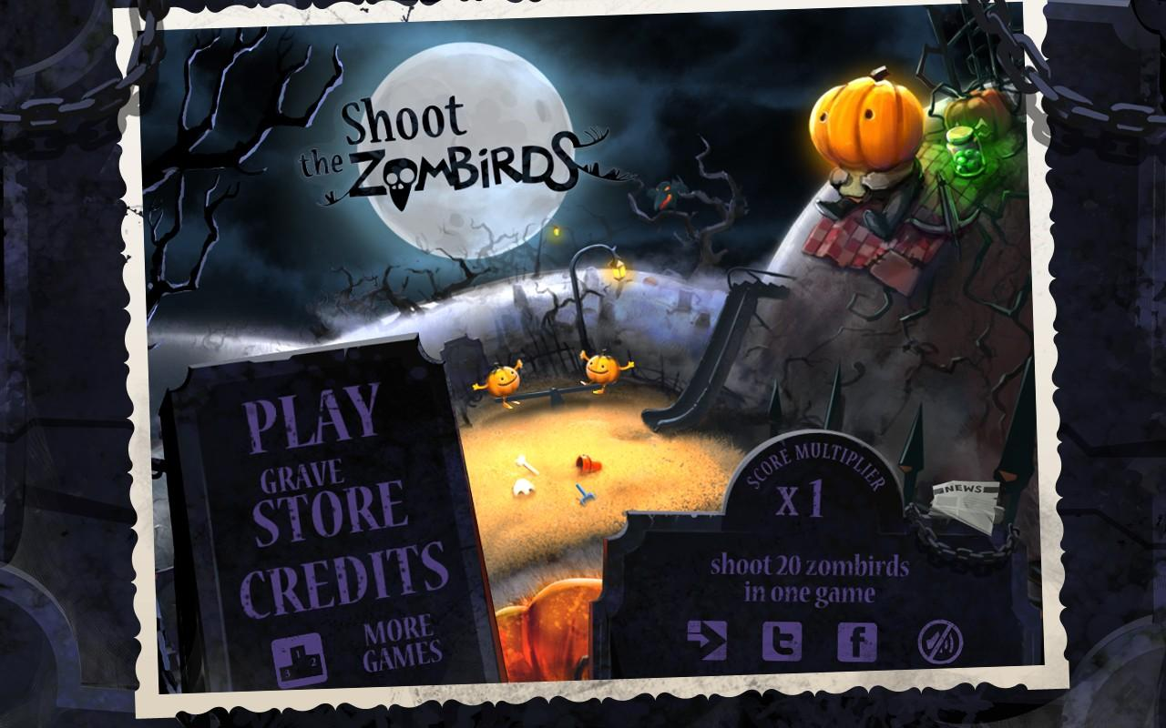 Shoot The Zombirds - screenshot