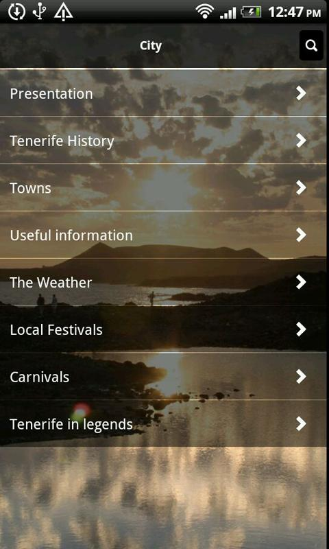 Tenerife Vacation Guide- screenshot