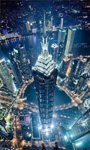 Night Light Dubai Wallpaper