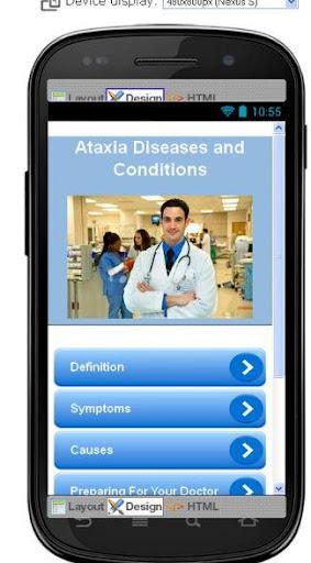 Ataxia Disease Symptoms