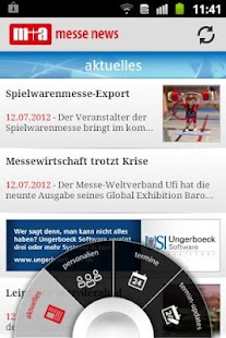 m+a messe news + messe termine- screenshot thumbnail