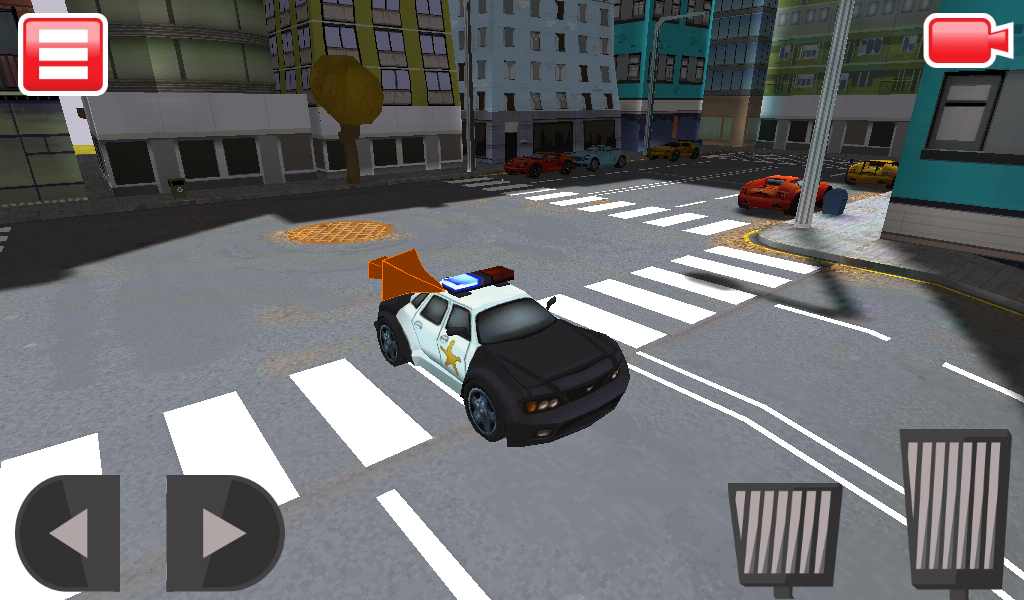 3D Police Car Chase- screenshot