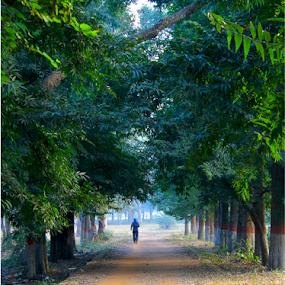 Good Morning!! by Arnab Choudhury - City,  Street & Park  City Parks
