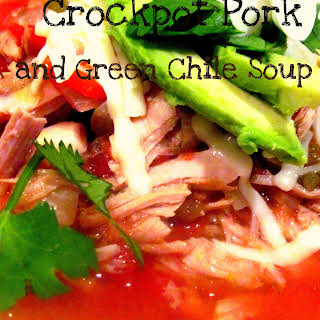 Crockpot Pork and Green Chile Soup.