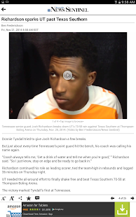 Knoxville News Sentinel - screenshot thumbnail