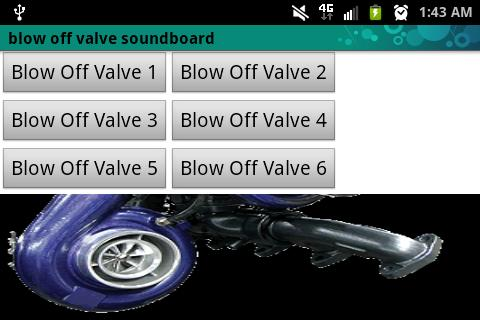 Blow Off Valve Soundboard Lite - screenshot