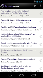 Ravens News - screenshot thumbnail