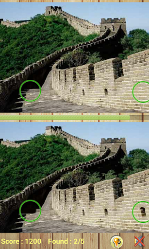 7 Wonders Find Differences