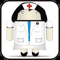 Droid Nurse doo-dad logo