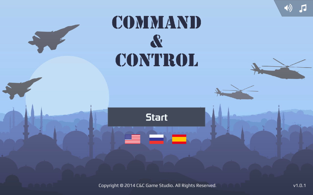 Command & Control (HD)- screenshot