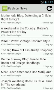 Fashion News screenshot 0
